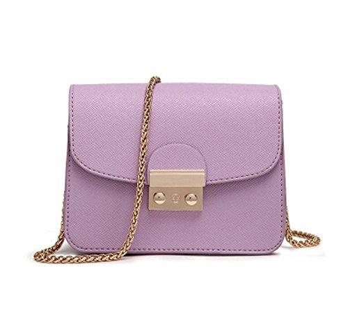 WiTa-Store, Borsetta da polso donna viola Purple Purple