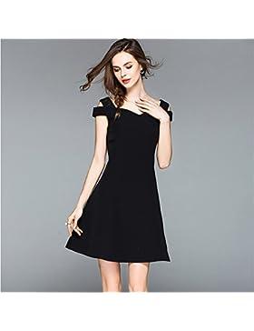 Smx Vestidos/vestidos de noche/Mujeres Casual/Mini Vestido/vestidos de gasa/Vestido de verano/Moda AtractivaHombros...