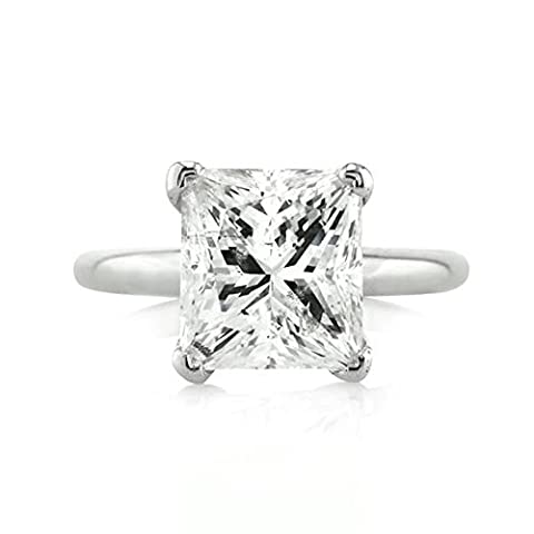 Forever Diamond 14K White Gold Or blanc 14 carats Princesse d Diamant