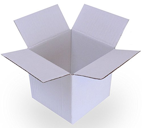 10,2x 10,2x 10,2cm weiß verpackungsboxen Stauraum Post für: Kuchen Party Geschenk Tasse Tee Porzellan Set Verpackung Plain Cake Box