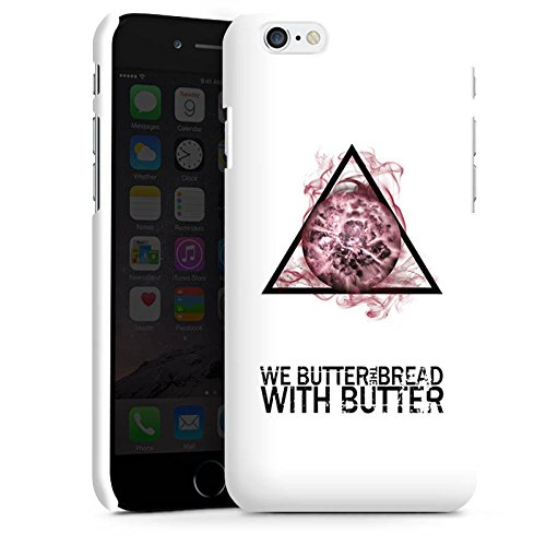 Apple iPhone X Silikon Hülle Case Schutzhülle We Butter The Bread With Butter Fanartikel Merchandise Apocalypse Premium Case matt