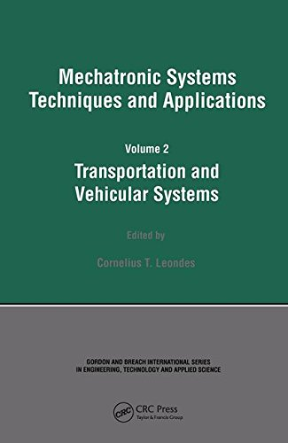 Transportation and Vehicular Systems (Mechatronic Systems, Techniques, and Applications)
