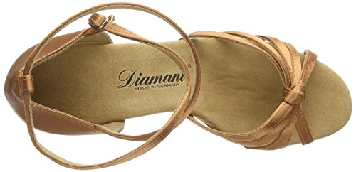 Diamant  Diamant Damen Latein Tanzschuhe, Chaussures de Danse de salon femmes Marron - Braun (Dark Tan)