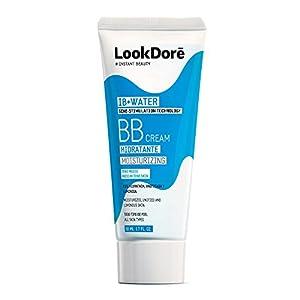 Lookdoré IB+Water BB Cream 50ml | 2 en 1 Base de Maquillaje y Crema Hidratante Facial | Unifica el tono y elimina manchas