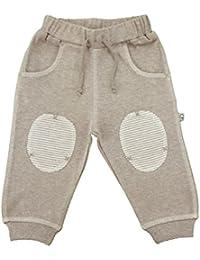 Baby Krabbelhose beige melange Bio Baumwolle Gr.80