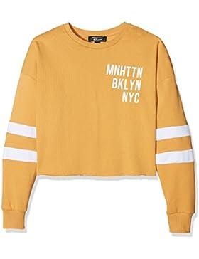 New Look Nyc Crew Neck Long Sleeve Sweatshirt, Sudadera para Niñas