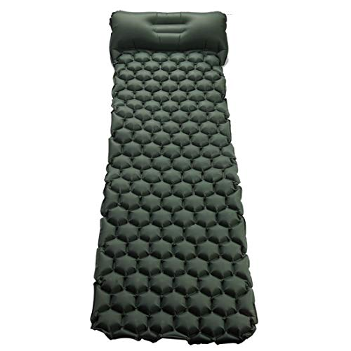 ERSD Haarteile Matte Decke Outdoor kompakte tragbare aufblasbare Luftmatratze Pad-isolierte Matte Leicht, komfortabel, wasserdicht, 3-Jahreszeiten - Wandern, Camping & Outdoor-Abenteuer