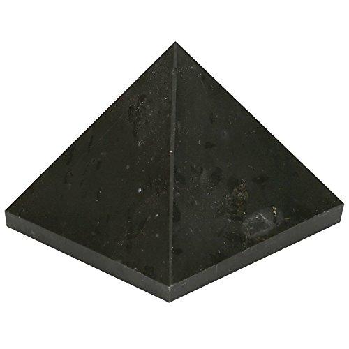 Generator Alle Power (aatm Reiki energetisierte Chakra Heilung schwarz Edelstein Pyramide/EMF Schutz Meditation Yoga Energy Generator (Stein für starker Schutz))
