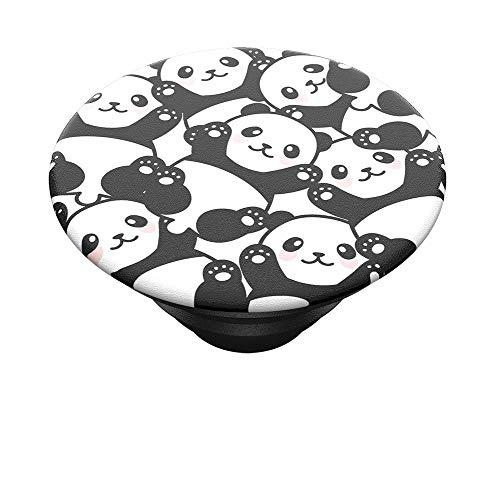 PopSockets PopTop - Top Interchangeable pour Votre PopGrip Interchangeable - Pandamonium