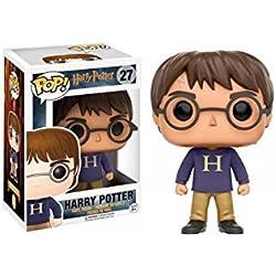 Funko - Figurine Harry Potter - Harry In Sweater Exclu Pop 10cm - 0889698109970