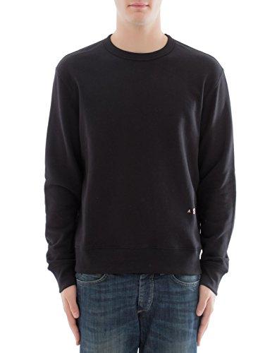 Acne Studios Herren 2Hb176black Schwarz Baumwolle Sweatshirt (Pullover Acne)