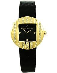 Daniel Hechter Damen-Armbanduhr Analog Quarz Leder DHCV08320NZ