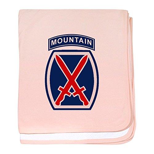 CafePress - 10th Mountain Division - Couverture pour bébé, Super Doux pour Nouveau-né Lange