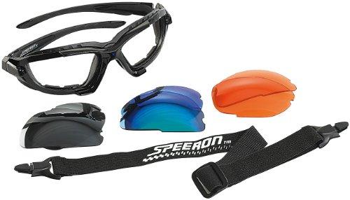 Preisvergleich Produktbild Speeron Sport-Sonnenbrille mit Kopfband und 3 Wechsel-Glsern