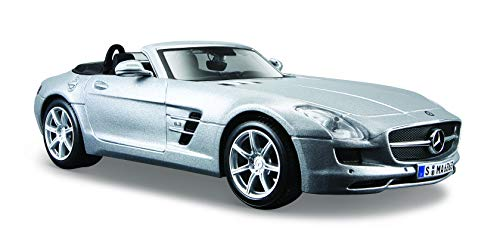 Maisto-Mercedes-Benz SLS AMG Roadster, Silber (31272s)
