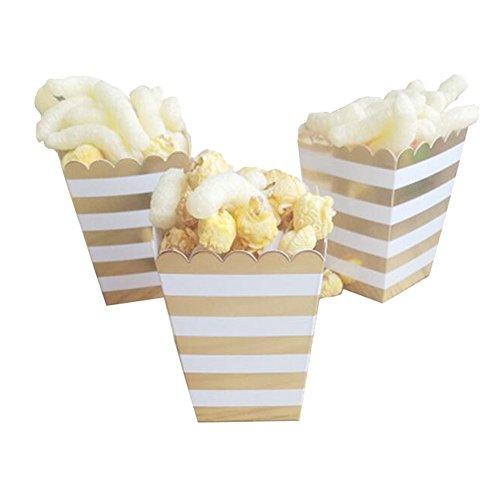 Black Temptation Popcorn Boxes Fries Cups Partyartikel - A6-12PCS