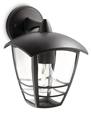 Philips MyGarden Creek Outdoor Wall Light (Requires 1 x 60 Watts E27 Bulb) - low-cost UK wall light shop.