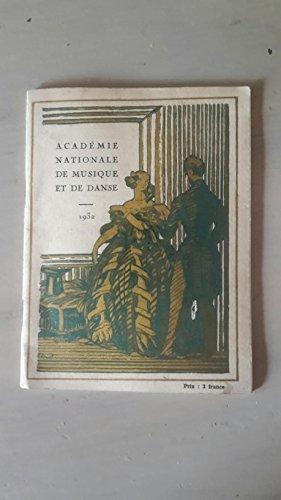 ACADEMIE NATIONALE DE MUSIQUE ET DE DANSE