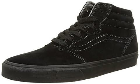 Vans M Milton Hi Mte, Herren Sneakers, Schwarz (black/pewter), 40