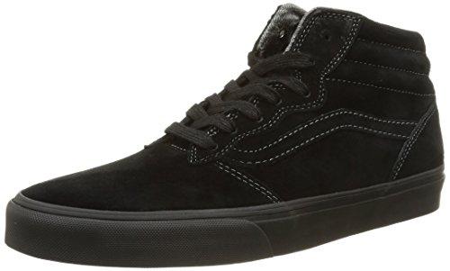 Vans M Milton Hi MTE, Men's Low-Top Sneakers, Black (Black/Pewter), 5/6 UK (38/39 EU) Vans M Milton Hi MTE, Men's Low-Top Sneakers, Black (Black/Pewter), 5/6 UK (38/39 EU) 41csLVOeC8L