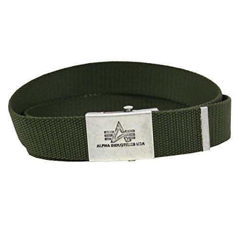 Alpha Industries Gürtel Heavy Duty Belt oliv - Einheitsgrösse