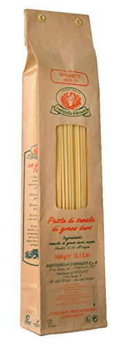 Spaghetti von Rustichella d Abruzzo - Hartweizennudeln Spaghetti