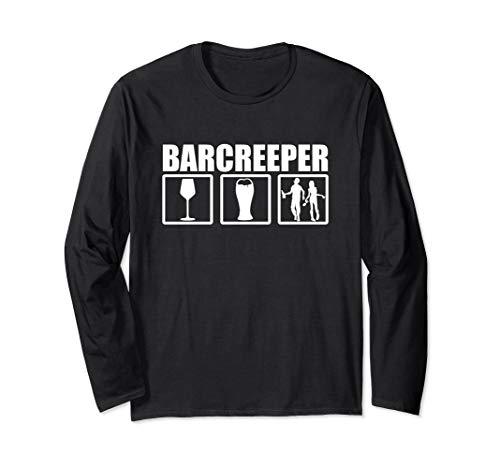 Kostüm Halloween Barkeeper - Barkeeper Halloween Kostüm Langarmshirt