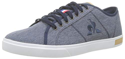 Le Coq Sportif Verdon Denim, Baskets Homme,Bleu (Dress...