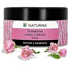 Naturma Tickled Pink Hand Cream Rose, 50 g