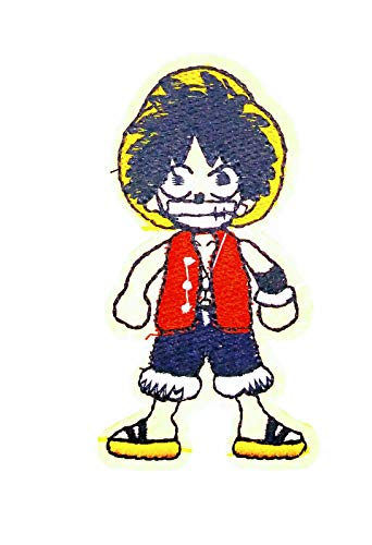 Parche Termoadhesivo Monkey D.Luffy One Piece 8x4