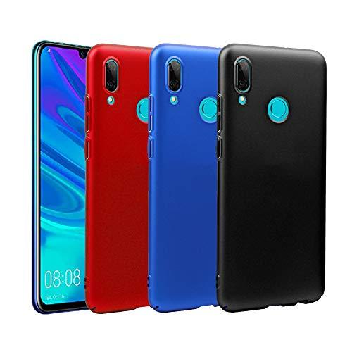 KZIOACSH Huawei P Capa Inteligente 2019, [Pacote 3] caso de PC de Proteção Ultra Fino Plástico Rígido para Huawei P Inteligente 2019