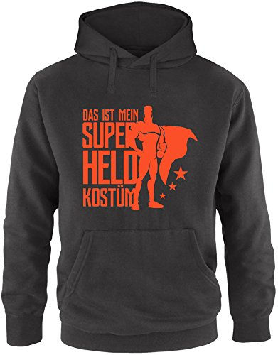 Superheld Kostüm H&m - EZYshirt® Das ist mein Superheld Kostüm Herren Hoodie