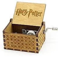 """Personalizable caja de música, """"Harry..."""" grabado de madera caja mejores regalos de Navidad"""