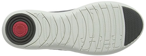 FitFlop F-Sporty, Ballerine Donna, Blank Grey (Charcoal)