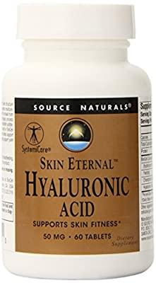 Skin Eternal Hyaluronic Acid 60 Tablets from Source Naturals