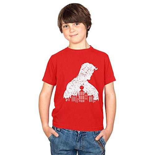 TEXLAB - Vintage Clark - Kinder T-Shirt, Größe S, rot
