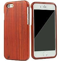 SunSmart Mano autentico legno naturale legno Caso case shell skin per iPhone 6 plus 5.5'' (sequoia)