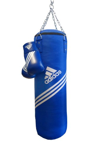 adidas Boxing Set Box-Kit Corner - Blau