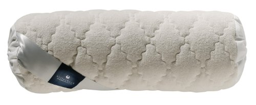 Billerbeck 1415100004 Naturkissen 345 Bilind, 40 / 15 cm weiß