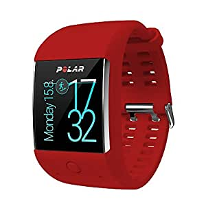 POLAR Smartwatch M600 - Rot/Red - M/L