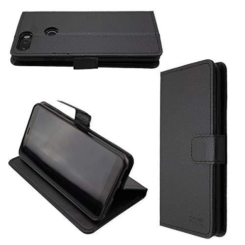 caseroxx Hülle/Tasche Bookstyle-Case Gigaset GS370 / GS370 Plus Handy-Tasche, Wallet-Case Klapptasche in schwarz