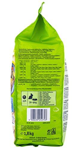 Vitakraft Life Dream, Hauptfutter für Zwergkaninchen mit Birne, Apfel und Hagebutte, 1,8 kg Packung (1 x 1,8 kg) - 5