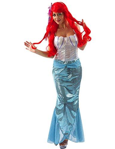 Mermaid - Small (Erwachsene Ariel Für Perücke)