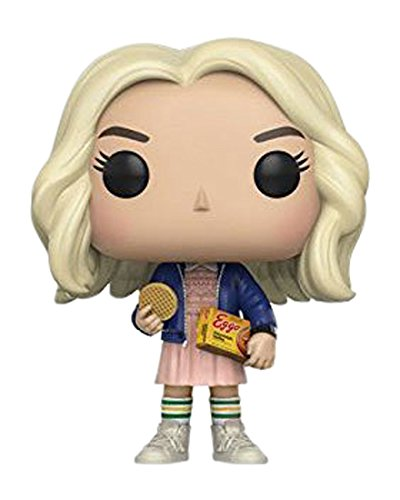 Funko-Pop-TV-Stranger-Things-Eleven-Con-Eggos-10cm-Figura-de-accin
