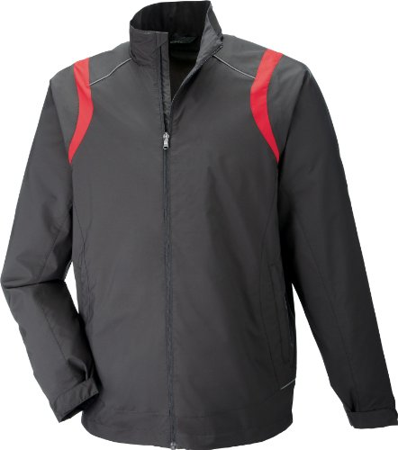Mens North End (Men's Venture Lightweight Mini Ottoman Jacket BLKSILK 866 2XL)