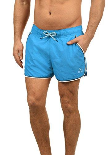 Blend Balderian Herren Badehose Badeshorts Schwimmshorts Mit Kordel, Größe:XXL, Farbe:Ocean Turquoise (74302)