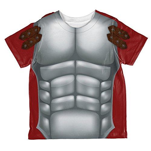 Halloween römischen Gladiator Kostüm ganzen Kleinkind T Shirt Multi 2 (Kostüme Für Gladiator Jungen)