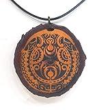 SOULSLICES Maori Tiki 1 Holzkette Halskette - Tribal - Hawaii - Neuseeland - Surfer - Surferschmuck - Vaiana - Maui - Aloha - Hula - Herren - Männer - Surferketten
