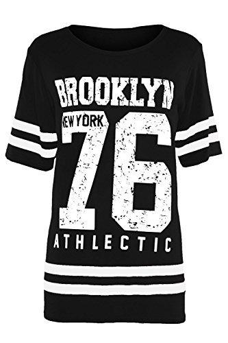 Kinder Flügelärmel T-shirt Brooklyn 76 New York 98 gebraucht kaufen  Wird an jeden Ort in Deutschland