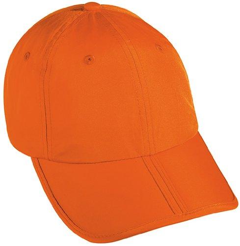 Myrtle Beach Uni Pack-a-Cap, orange, One size, MB6155 (Orange Baseball-caps)